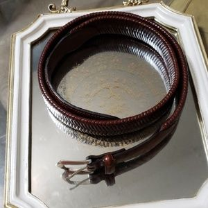 Other - USED FULL GRAIN LEATHER BELT.